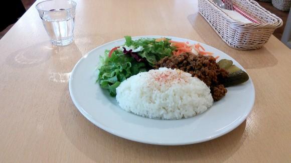 水谷珈琲のランチ 野菜たっぷりドライカレー