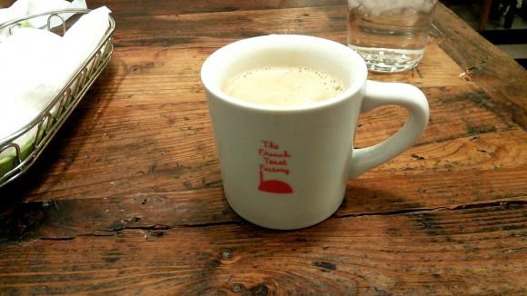 ザ・フレンチトーストファクトリーのコーヒー