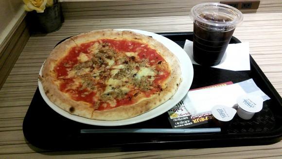 ナポリス渋谷店で食べたトンナータ
