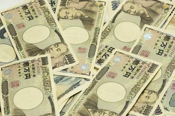 1万円札がいっぱい
