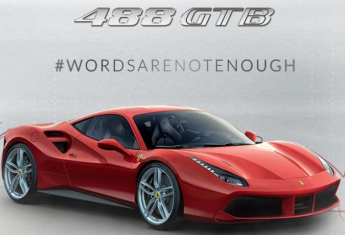フェラーリ最新スポーツ車「488GTB」