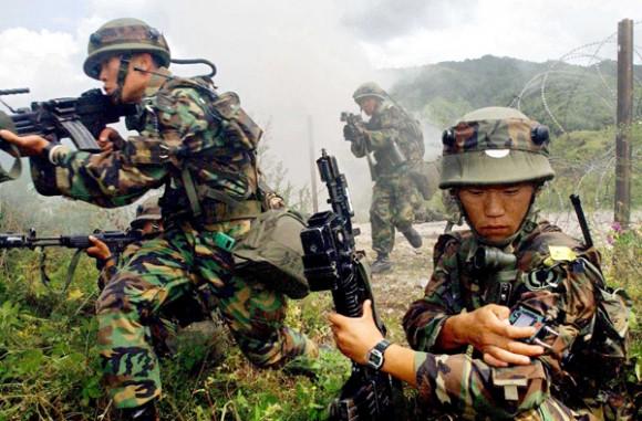 韓国陸軍の画像(ユンホも入隊か)