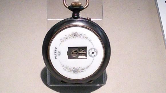 ジャンプ式懐中時計